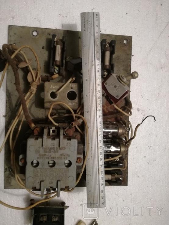 Щиток електричний ссср+переключателі, фото №6