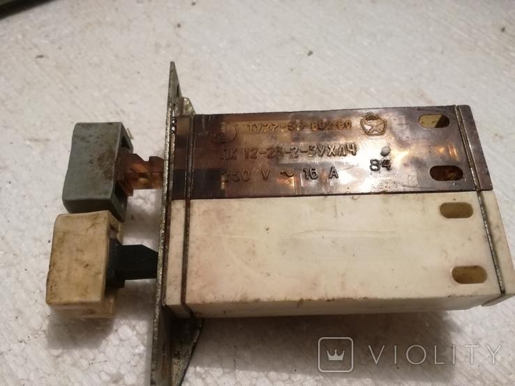 Щиток електричний ссср+переключателі, фото №10