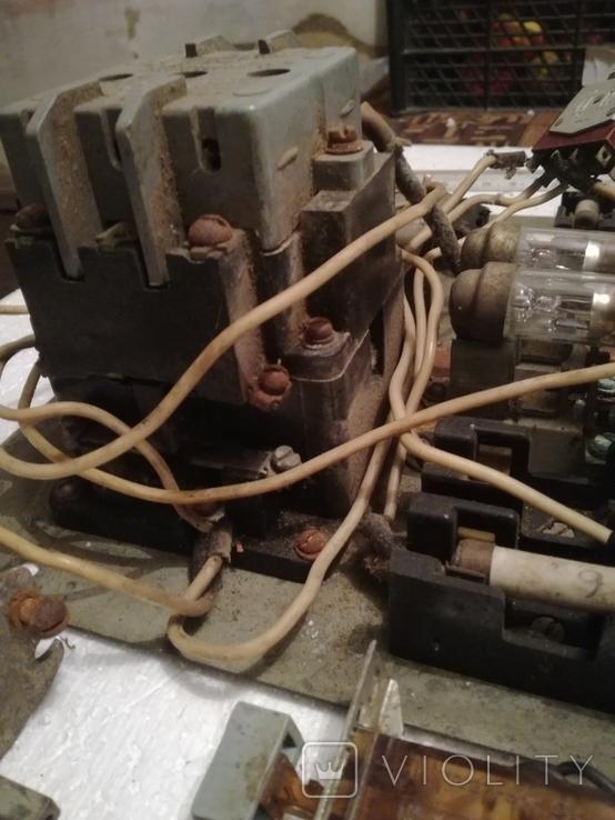 Щиток електричний ссср+переключателі, фото №11