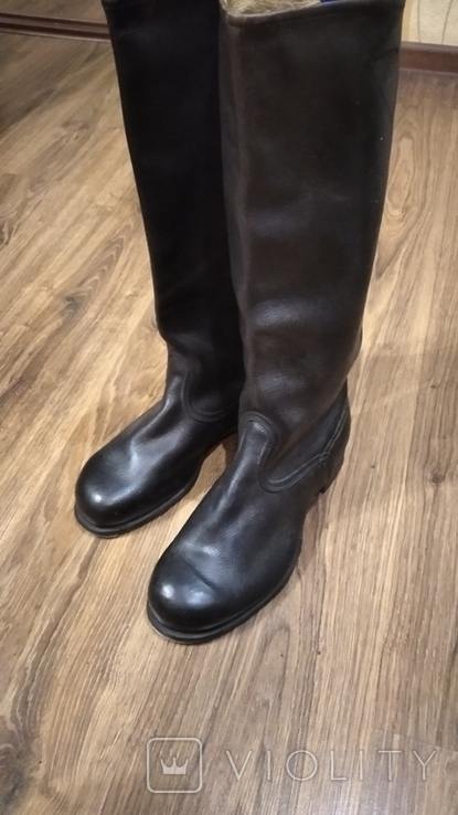 Яловые новые сапоги 43 размер, фото №2