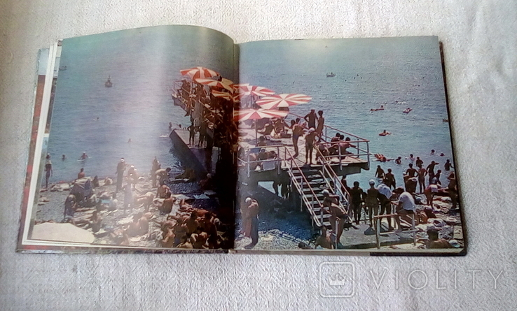 """Фотоальбом """"Кримський меридіан"""". Тираж  40000 пр. Вид. Мистецтво. Зеленін Г.І .1981 р., фото №6"""