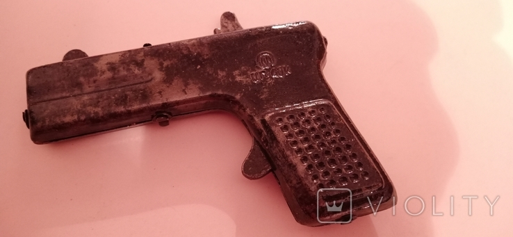Портсигар замок пистолетик, фото №6
