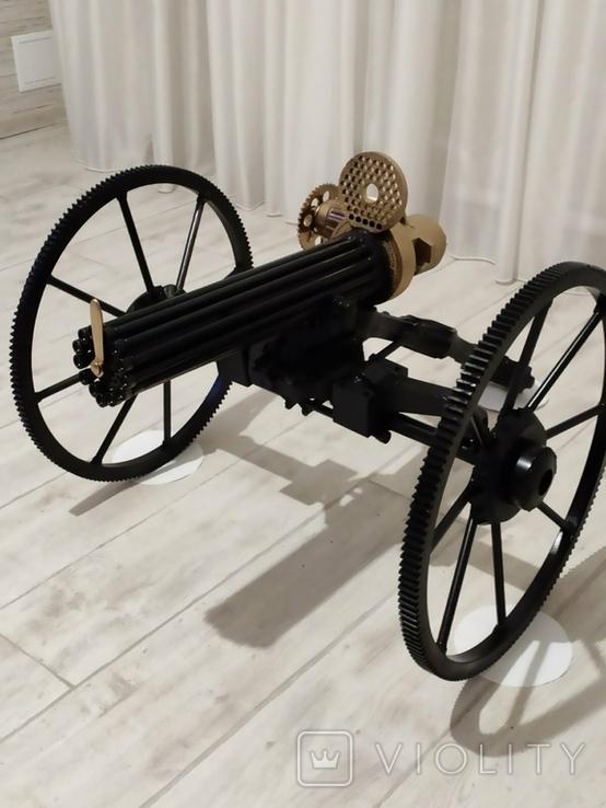 Пулемет Гатлинга. Ручная работа, фото №7