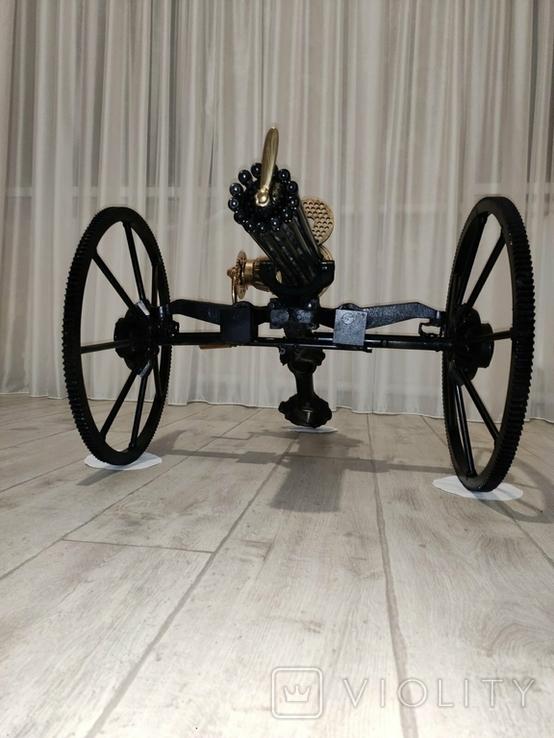 Пулемет Гатлинга. Ручная работа, фото №9