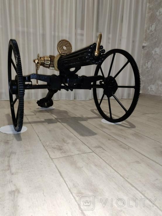 Пулемет Гатлинга. Ручная работа, фото №10