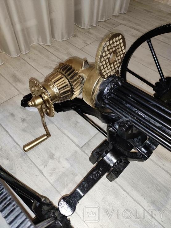 Пулемет Гатлинга. Ручная работа, фото №11