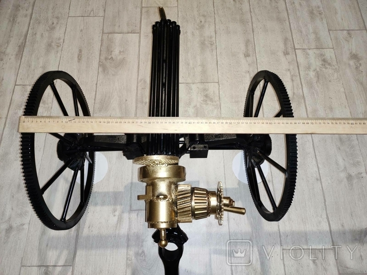 Пулемет Гатлинга. Ручная работа, фото №13