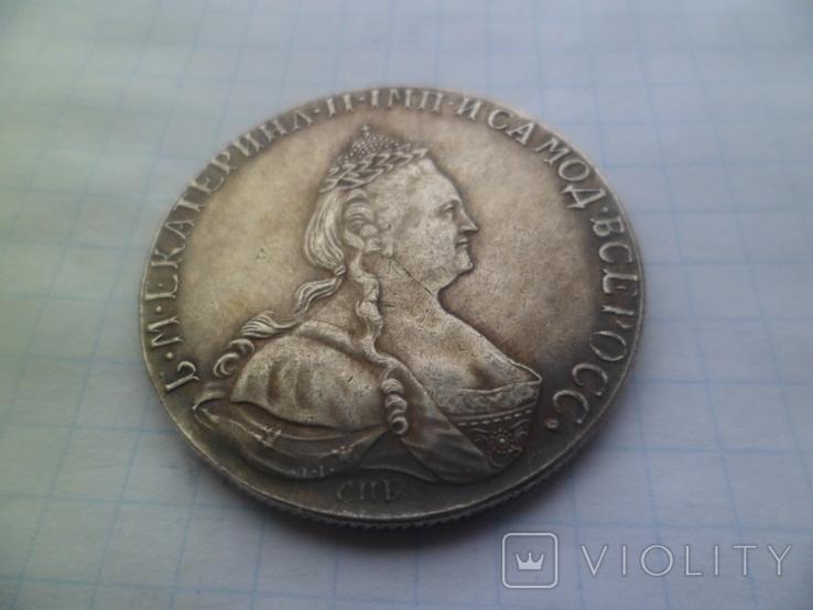 Рубль 1790 рік копія, фото №2