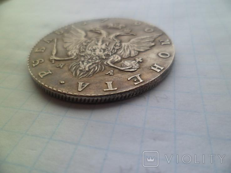 Рубль 1790 рік копія, фото №6