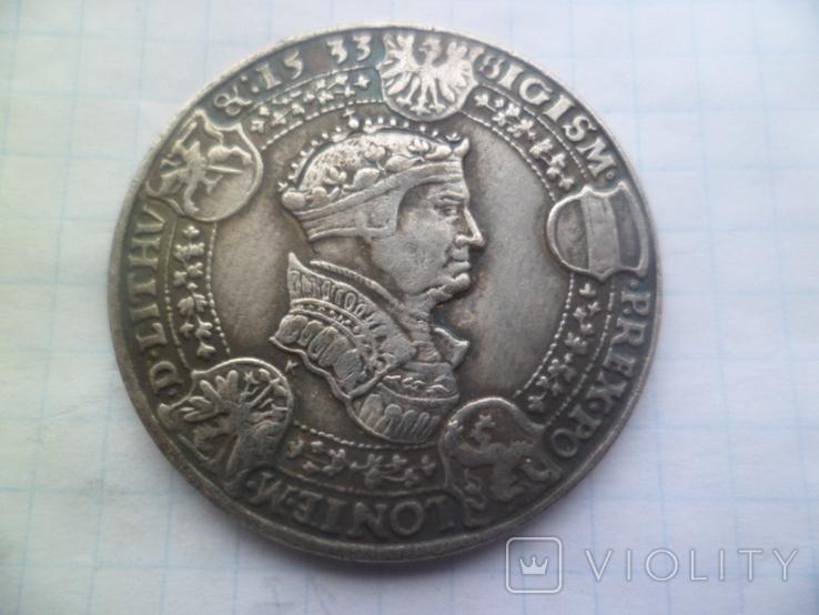 Талер 1533 рік копія, фото №4