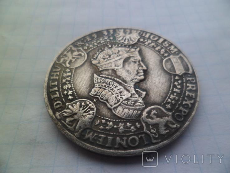 Талер 1533 рік копія, фото №5