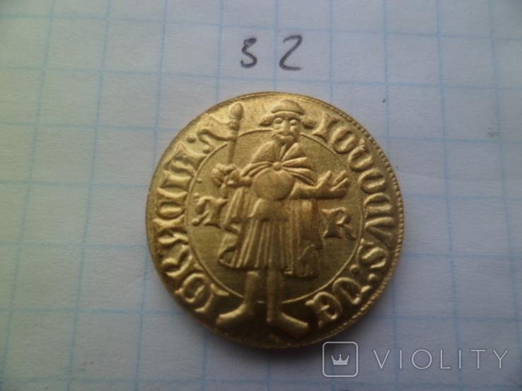 Золота монета   копия, фото №2