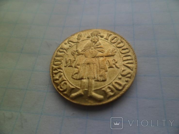 Золота монета   копия, фото №3