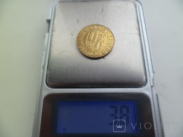 Золота монета   копия, фото №6