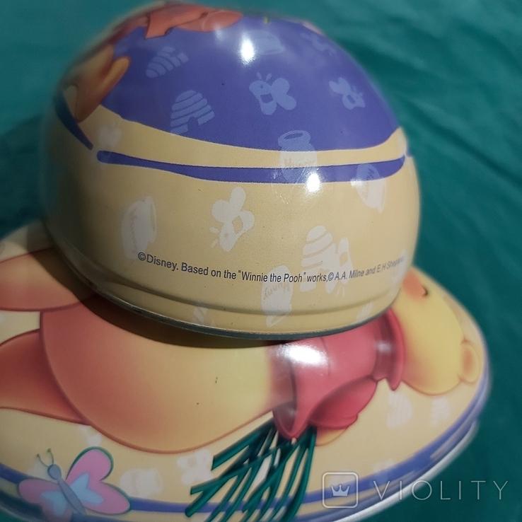 """Металлическое яйцо """"Винни Пух и Пятачок"""", фото №10"""