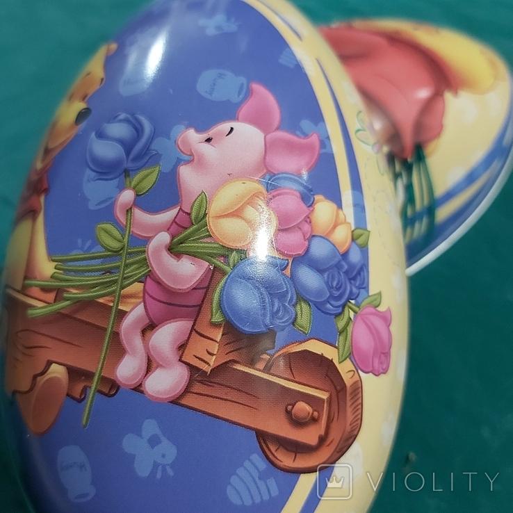 """Металлическое яйцо """"Винни Пух и Пятачок"""", фото №12"""