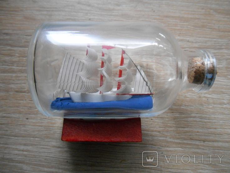 Парусник в бутылке, фото №3