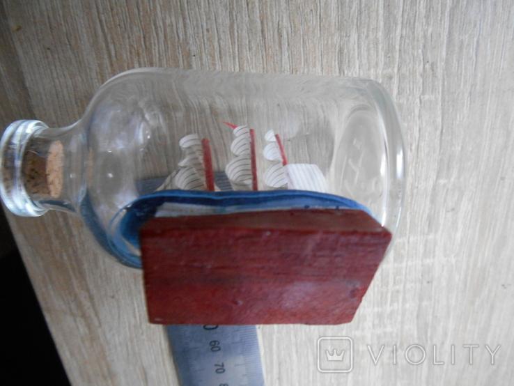 Парусник в бутылке, фото №6