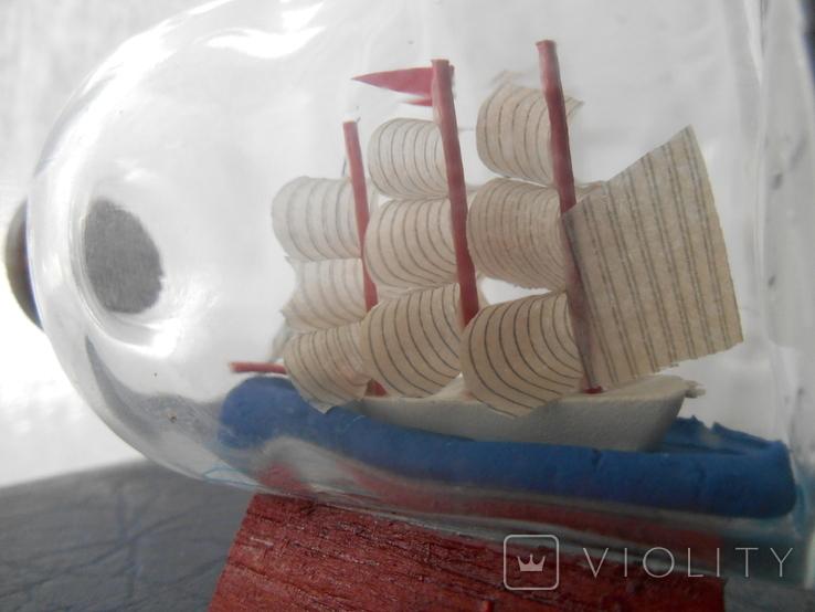 Парусник в бутылке, фото №8