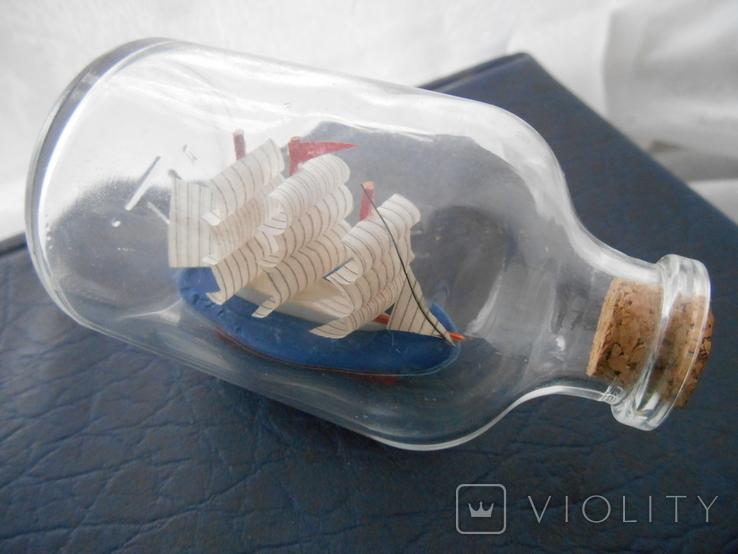 Парусник в бутылке, фото №9