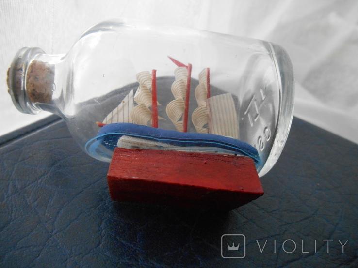 Парусник в бутылке, фото №11