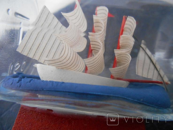 Парусник в бутылке, фото №13