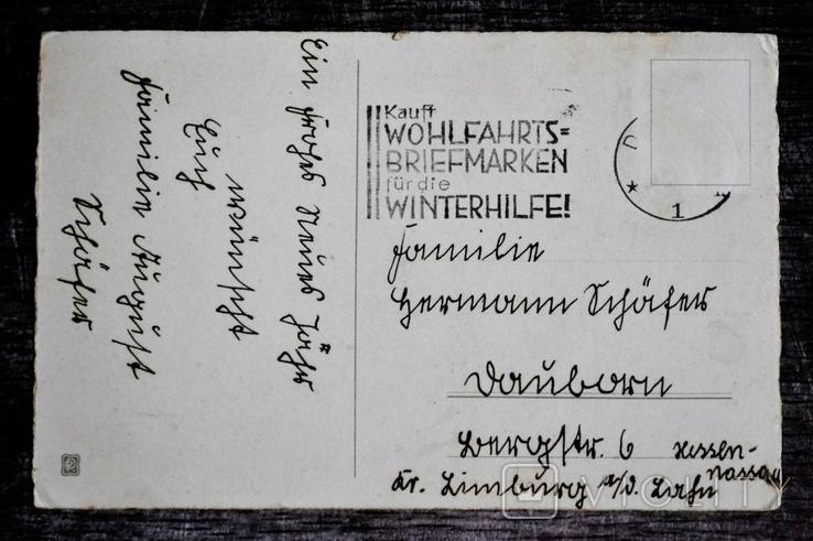 Старинная открытка. Новый Год. Германия., фото №3