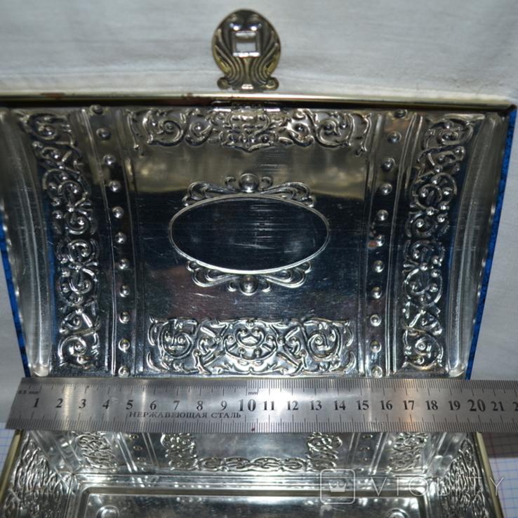 Канфеты Красный Октябрь большая коробка сундук, фото №11
