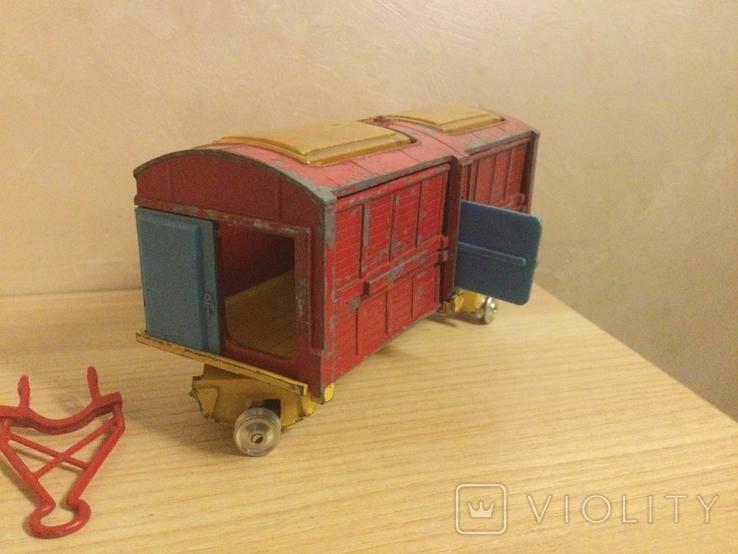 Corgi major toys International 6*6 track + Corgi toys Circus animal cage, фото №5
