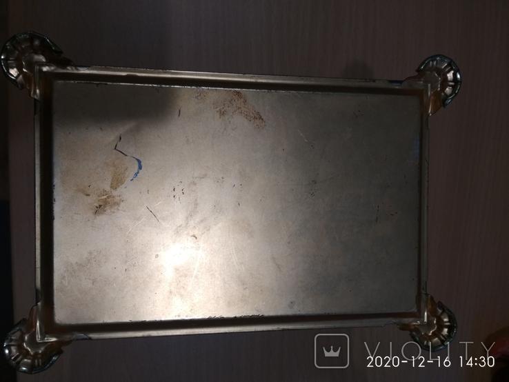 Коробка сундук из под конфет фабрики Красный Октябрь ,СССР, фото №7