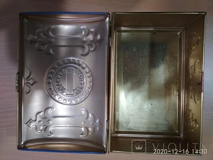 Коробка сундук из под конфет фабрики Красный Октябрь ,СССР, фото №8