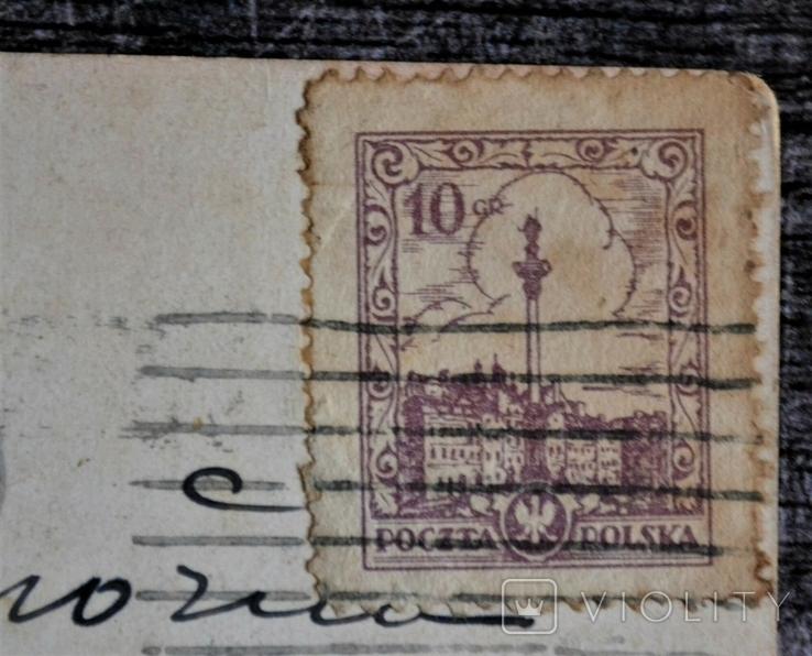 Старинная открытка Ludwig Hans Fischer: Alter hof. 1925 год., фото №4
