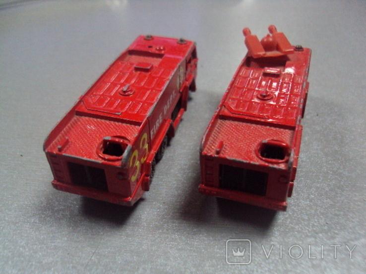 Машинка машина пожарная лот 2 шт, фото №7