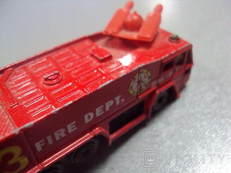 Машинка машина пожарная лот 2 шт, фото №10