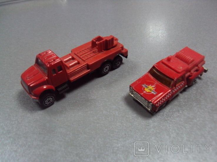 Машинка машина пожарная лот 2 шт, фото №2