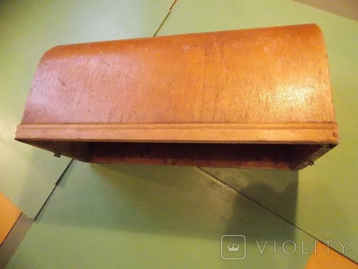 Крышка на старинную швейную машинку., фото №2