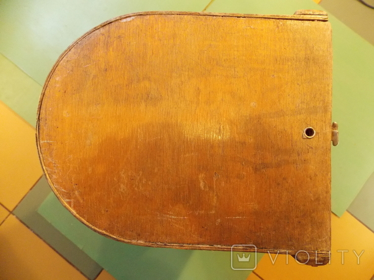 Крышка на старинную швейную машинку., фото №6