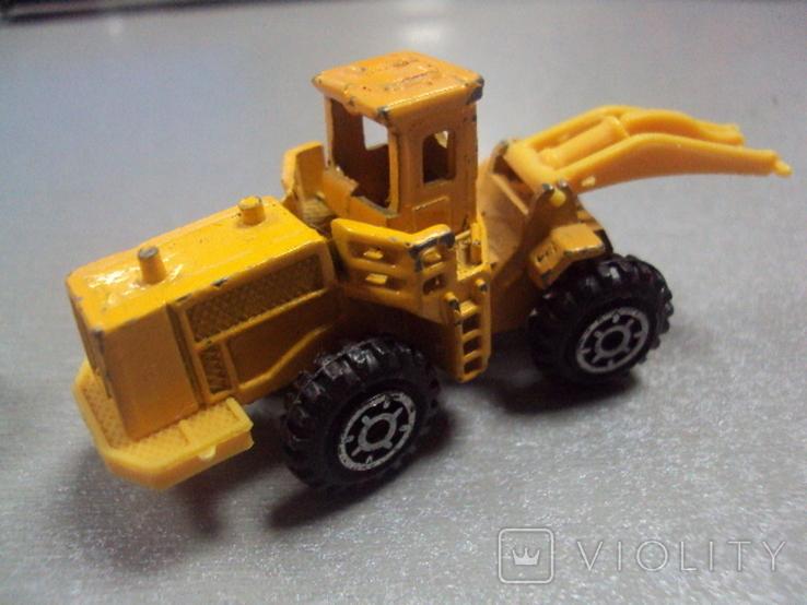 Машинки дорожно-ремонтная техника гонконг лот 2 шт, фото №5