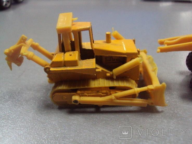 Машинки дорожно-ремонтная техника гонконг лот 2 шт, фото №8