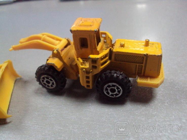 Машинки дорожно-ремонтная техника гонконг лот 2 шт, фото №9