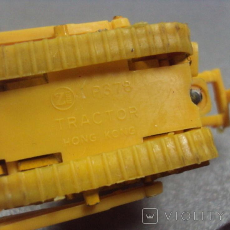 Машинки дорожно-ремонтная техника гонконг лот 2 шт, фото №12