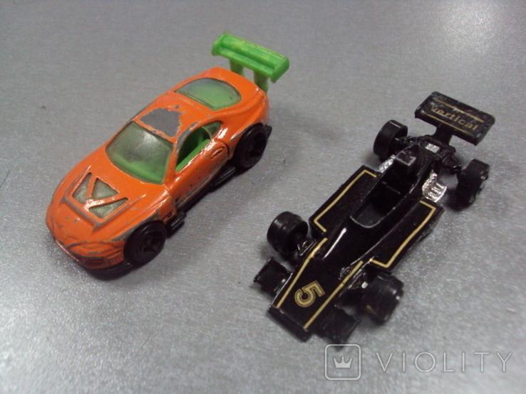 Машинки гоночный формула тайланд лот 2 шт, фото №2