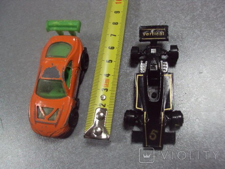 Машинки гоночный формула тайланд лот 2 шт, фото №3