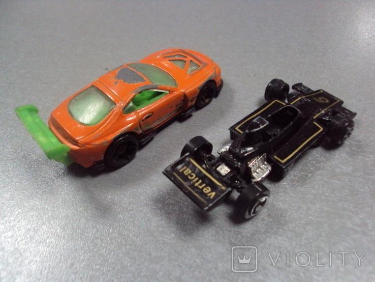 Машинки гоночный формула тайланд лот 2 шт, фото №7