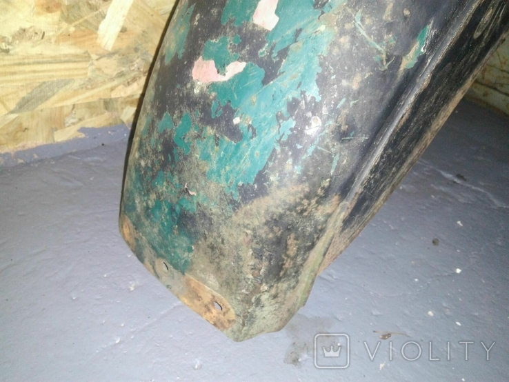 Крыло колеса коляски мотоцикла Урал с фонарем, фото №5