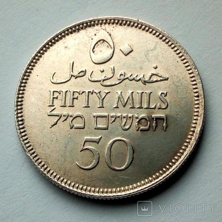 Палестина 50 милс 1935 г. - Британский мандат, фото №6