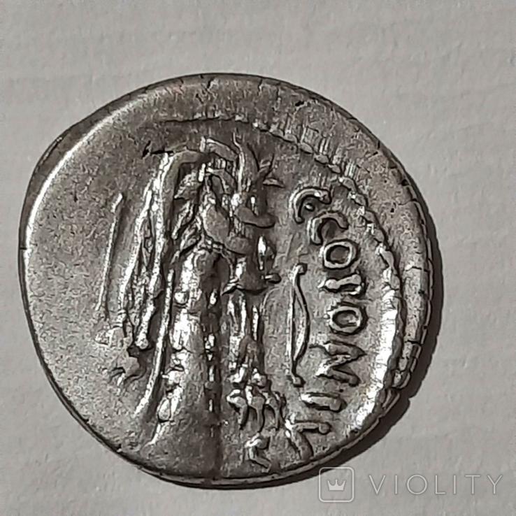 Римская республика. К. Сициний и К. Копоний, 49 г. до н. Э., фото №2