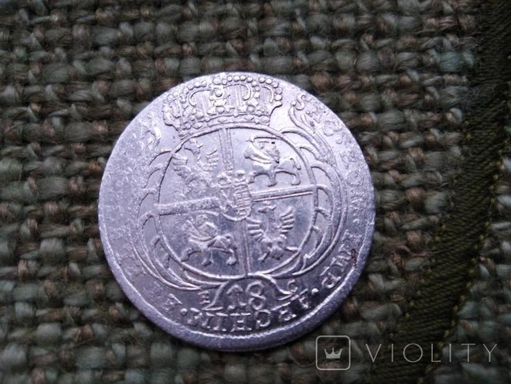 18 грошей 1754 года, фото №3