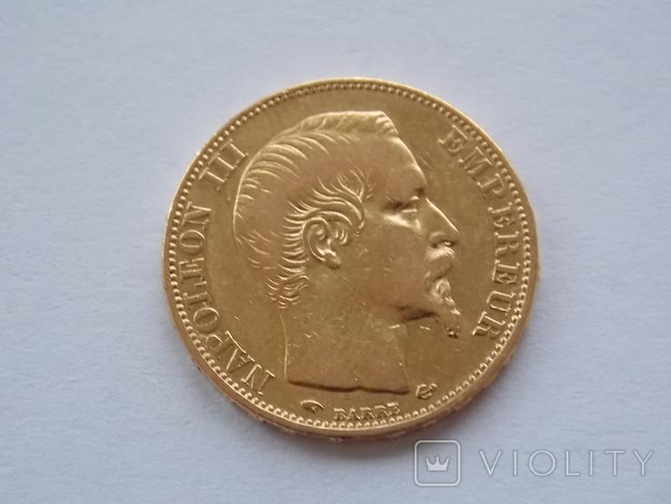 20 франков 1856 года