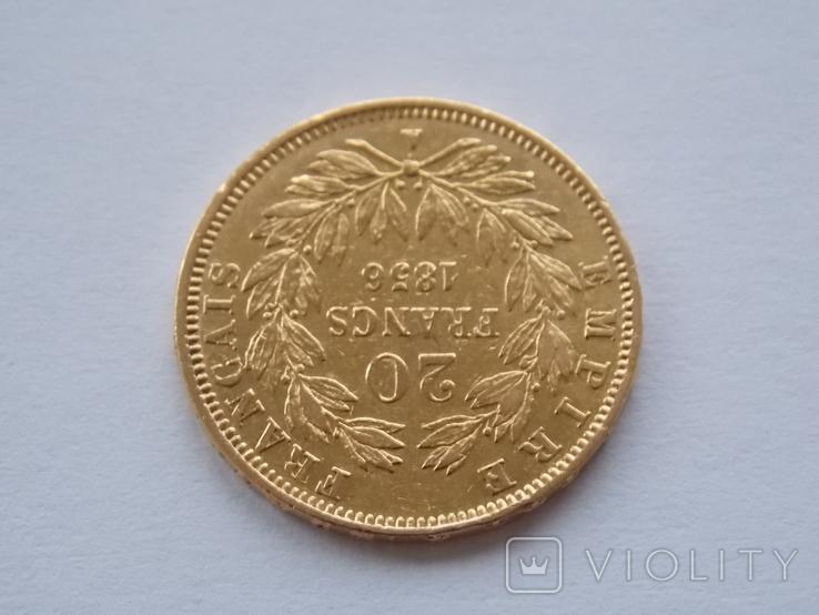20 франков 1856 года, фото №5